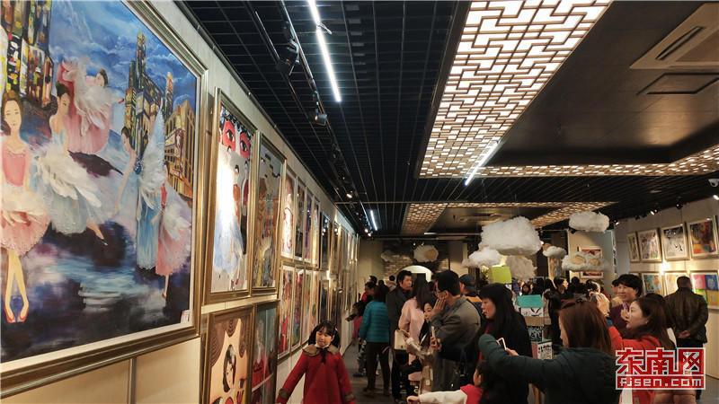 """""""梦·想·家""""少儿造梦公益画展在南后街展览馆开展"""