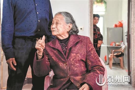 听闻家乡要建新医院 南安96岁老太捐出百万积蓄
