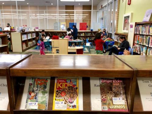 美媒:学会看书帮助新移民孩子解决融入困难问题