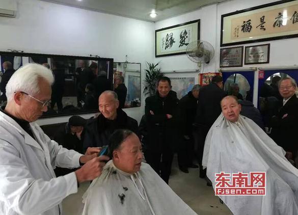 """新春伊始 莆田城厢""""一元理发""""继续起航"""