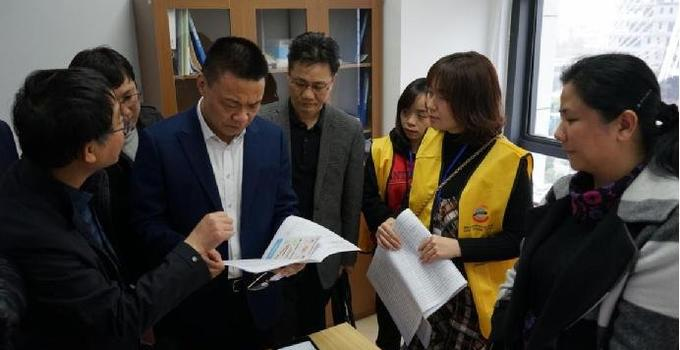 福建省统计局张国旺局长到厦门调研第四次全国经济普查登记工作
