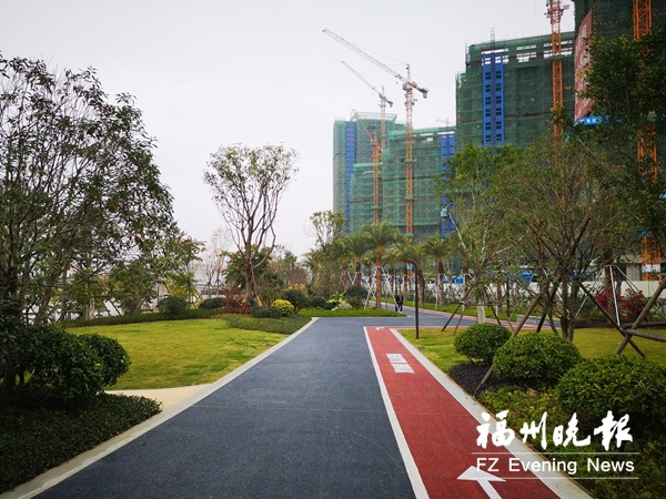 福清虎溪公园东园即将开放 定位为生态湿地公园