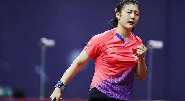 陈梦个人资料微博照片 女乒第一美女霸气三连胜世乒赛稳了