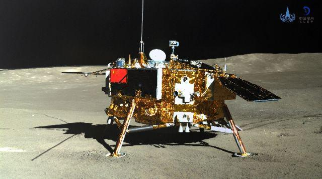嫦娥四號今日自主喚醒,開始第三月晝后續工作