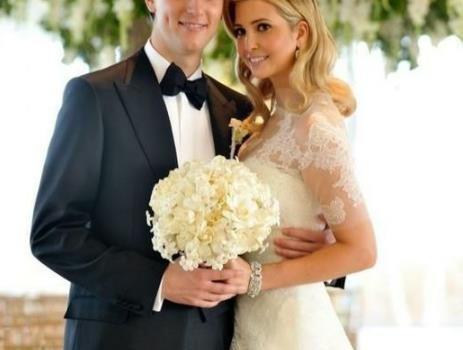 看完伊万卡婚礼时穿搭,再看继母梅拉尼娅结婚时穿着,两者差别大