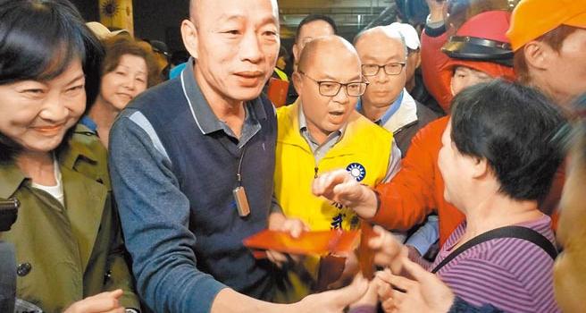 """""""韩流""""让蓝营气势高涨 国民党高雄""""立委""""参选爆炸"""