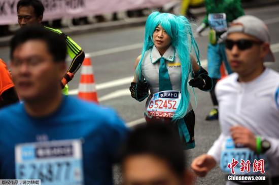 近3000名在日华人参加东京马拉松:越跑越开心