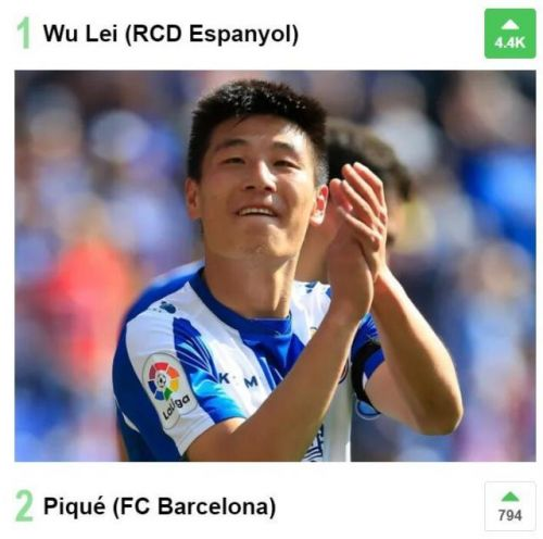 武磊入围西甲MVP候选人 西班牙人3-1胜巴拉多利德武磊单刀破门