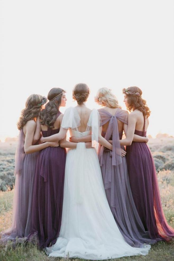 婚礼上这些美好时刻 和闺蜜团一起留住惊艳时光