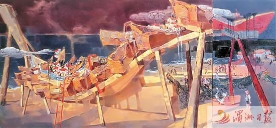 莆田美术家陈汉卿油画作品首次入选北京双年展