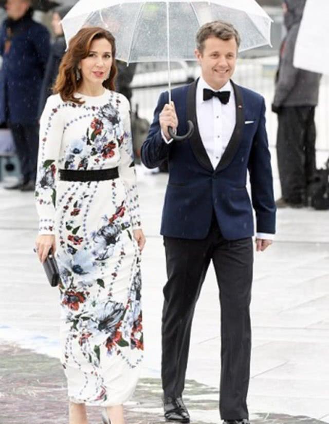 盘点丹麦王妃最美瞬间 网友:美得不一般