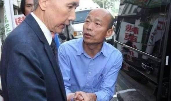 韩国瑜竟拜托地产大亨做这件事 台媒体人哽咽了