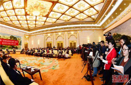 福建代表团举行开放日 于伟国发出热情邀约