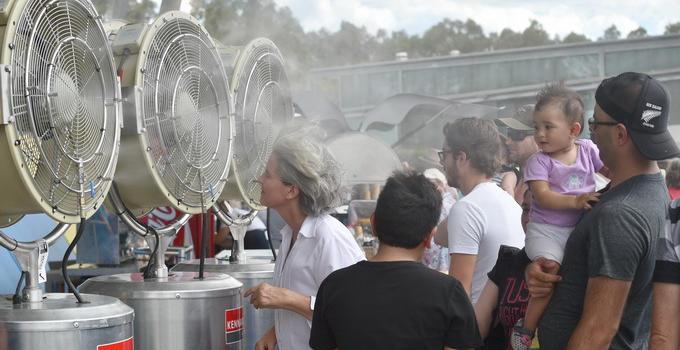 澳大利亚南部热浪来袭竟不能出门? 专家:先用热成像观察室外
