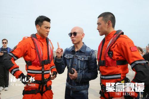 彭于晏来福州拍摄《紧急救援》 一身救援服造价6位数