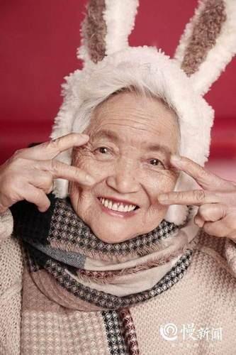 87岁少女系写真是什么梗 87岁罗婆婆女神节收获特别礼物太暖心