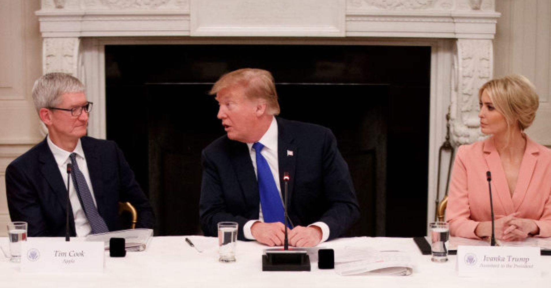 特朗普叫库克苹果怎么回事 特朗普为什么叫库克苹果有深意么