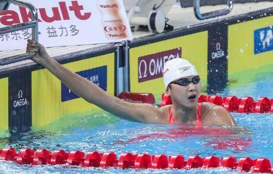 王簡嘉禾打破紀錄 1500米自由泳成績15分46秒69