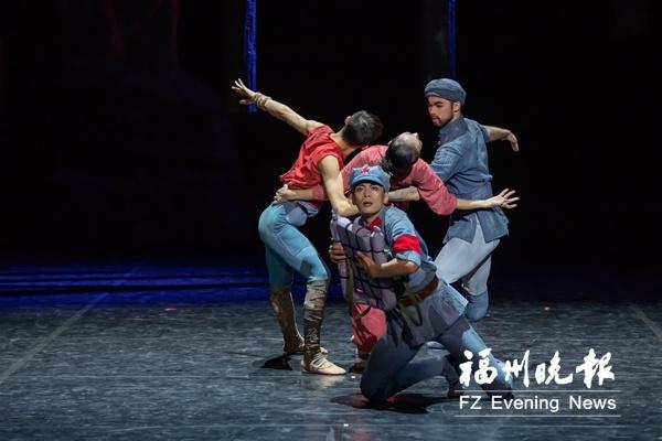 芭蕾舞剧《闪闪的红星》下周来福州