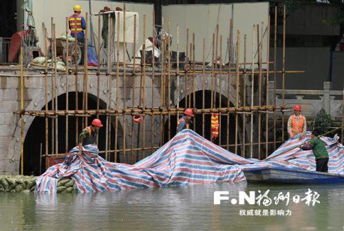 """福州城区水系治理""""大干120天"""" 70条主干河道下月底验收"""
