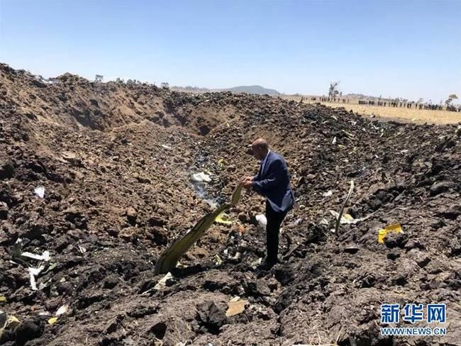埃航坠机现场曝光图片一览 埃航坠机客机上157人全部遇难