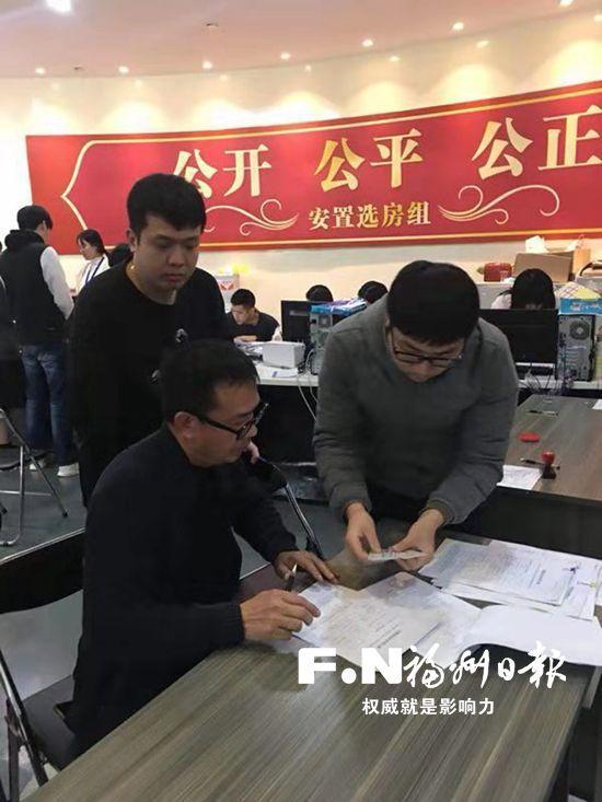 福清市龙江征迁组提前一个月实现100%签约