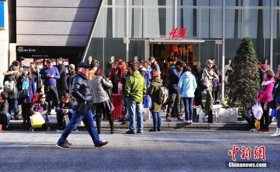 """日华媒:中国""""代购""""减少 日本百货店明暗两分"""