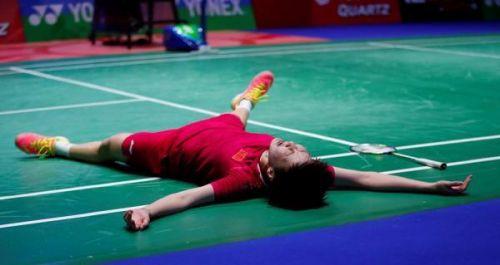 全英羽毛球公开赛陈雨菲夺冠 中国队夺得三项冠军