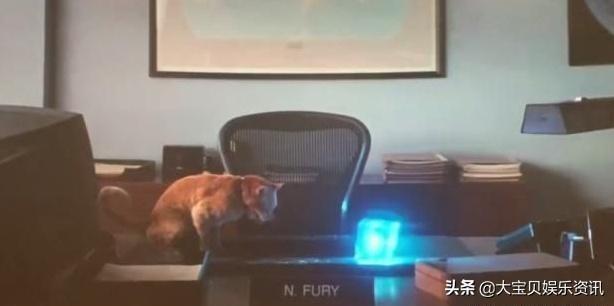 《惊奇队长》结局双彩蛋,片尾橘猫吐出宇宙魔方蕴藏着大阴谋?