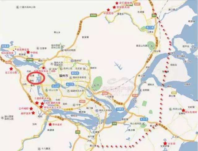福州四環來了 就在今年三季度!主城區直通連江、瑯岐、長樂!