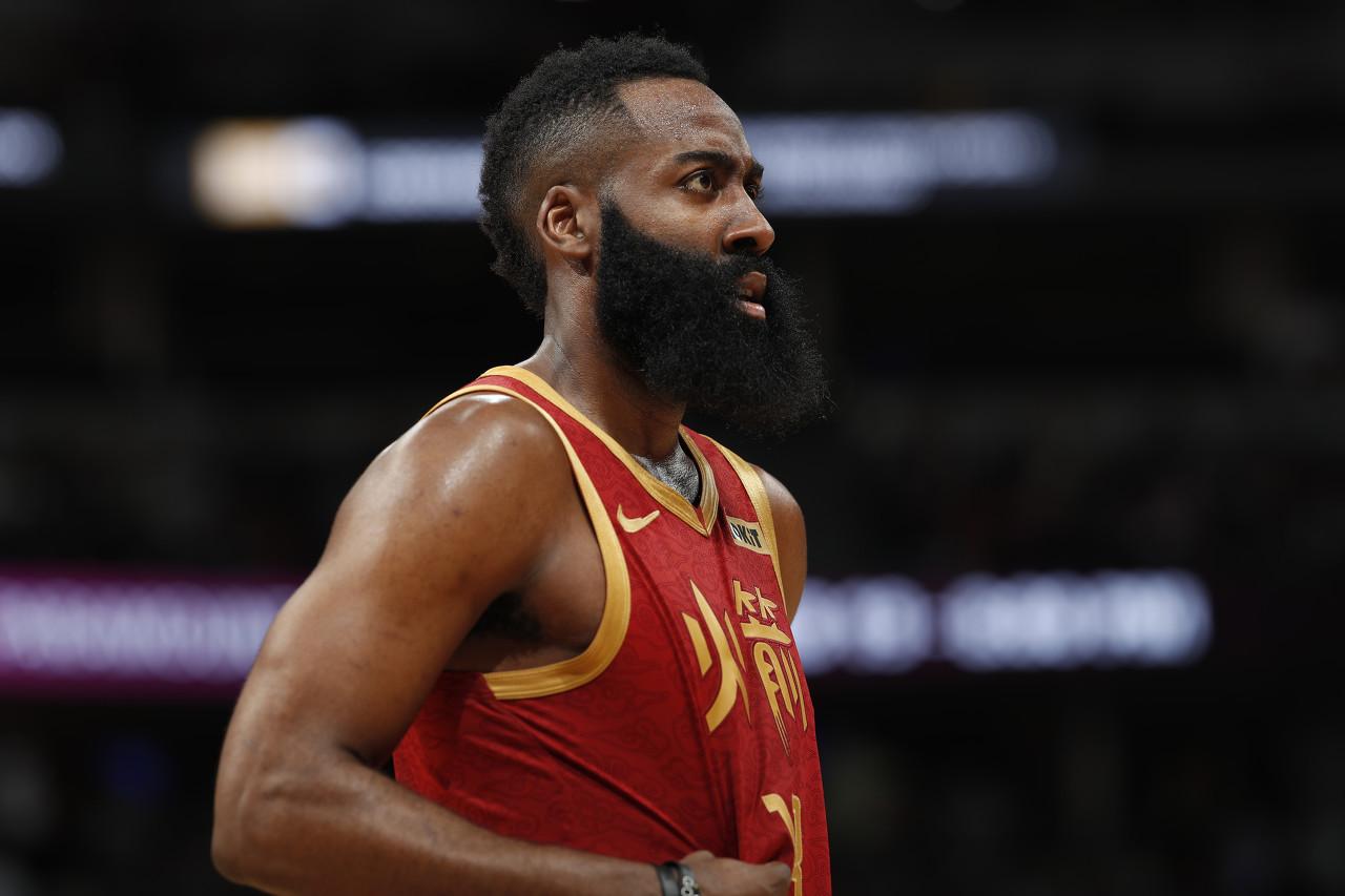 NBA周最佳球员名单出炉 火箭哈登再度落选