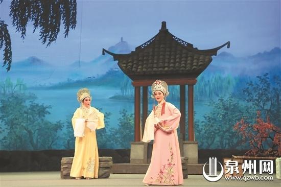越剧《梁山伯与祝英台》 在泉州演出受热捧