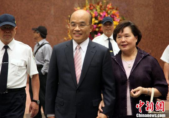 """苏贞昌谈民进党""""立委""""补选选情:形势相当困难"""