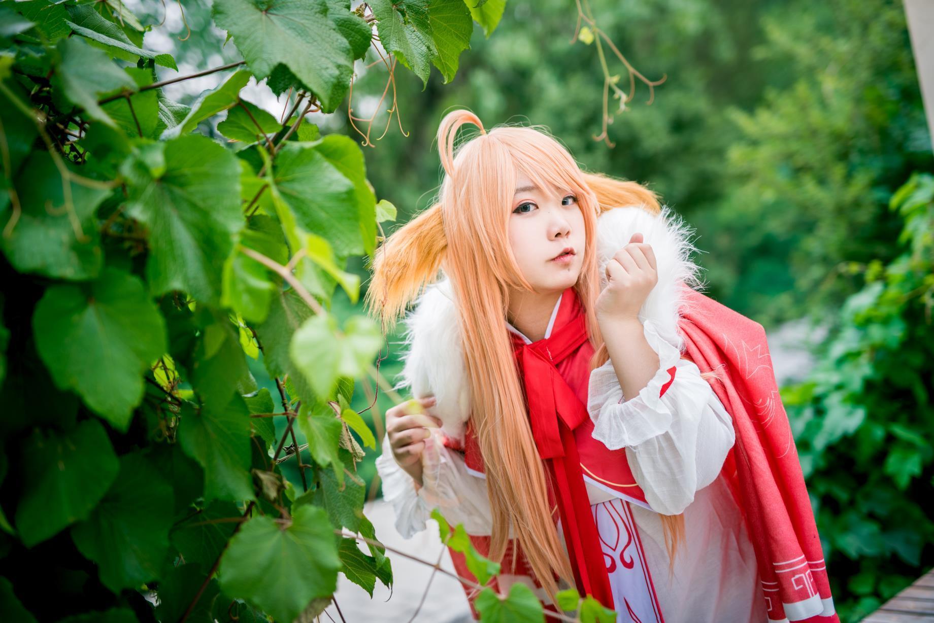 狐妖小红娘姐妹cos 可爱涂山苏苏和女王红红姐