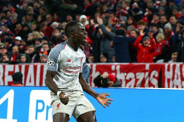 利物浦晋级欧冠8强3-1客胜拜仁 马内梅开二度