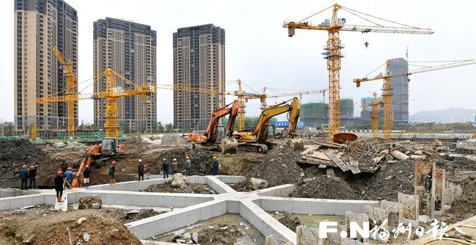 五千建设大军会战福州三江口