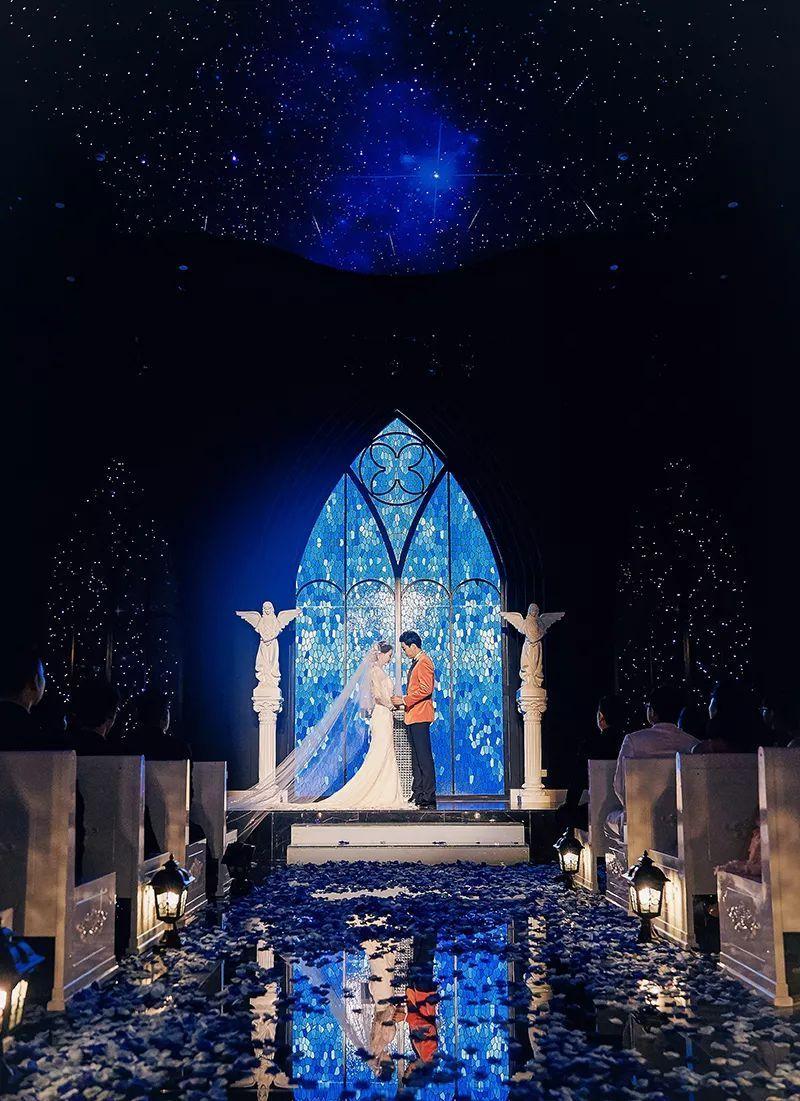 给你如许的婚礼 就问你结不结?激动到想嫁人!