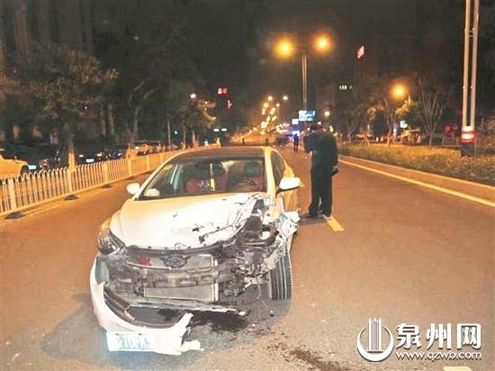 夫妻卖海鲜遇车祸 肇事司机无证驾驶弃车而逃