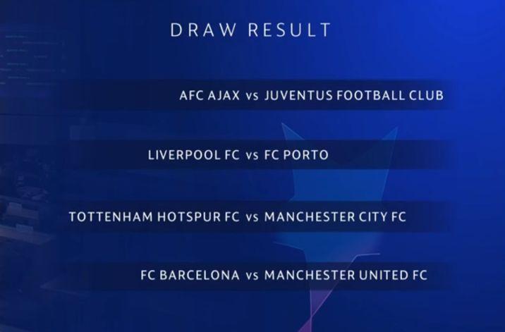 欧冠8强出炉都有哪些球队赛程 这便是本年足坛的终极脚本?