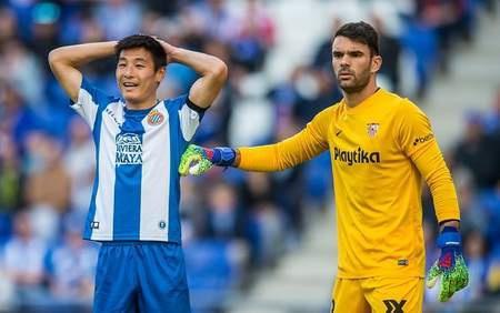 西班牙人0-1塞维利亚 比赛结束后两队发生冲突