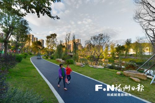 """福州串珠公园告别""""千园一面"""" 秀出个性美"""