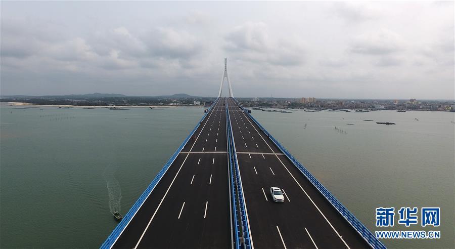 我国首座超过地动运动断层跨海大桥正式通车
