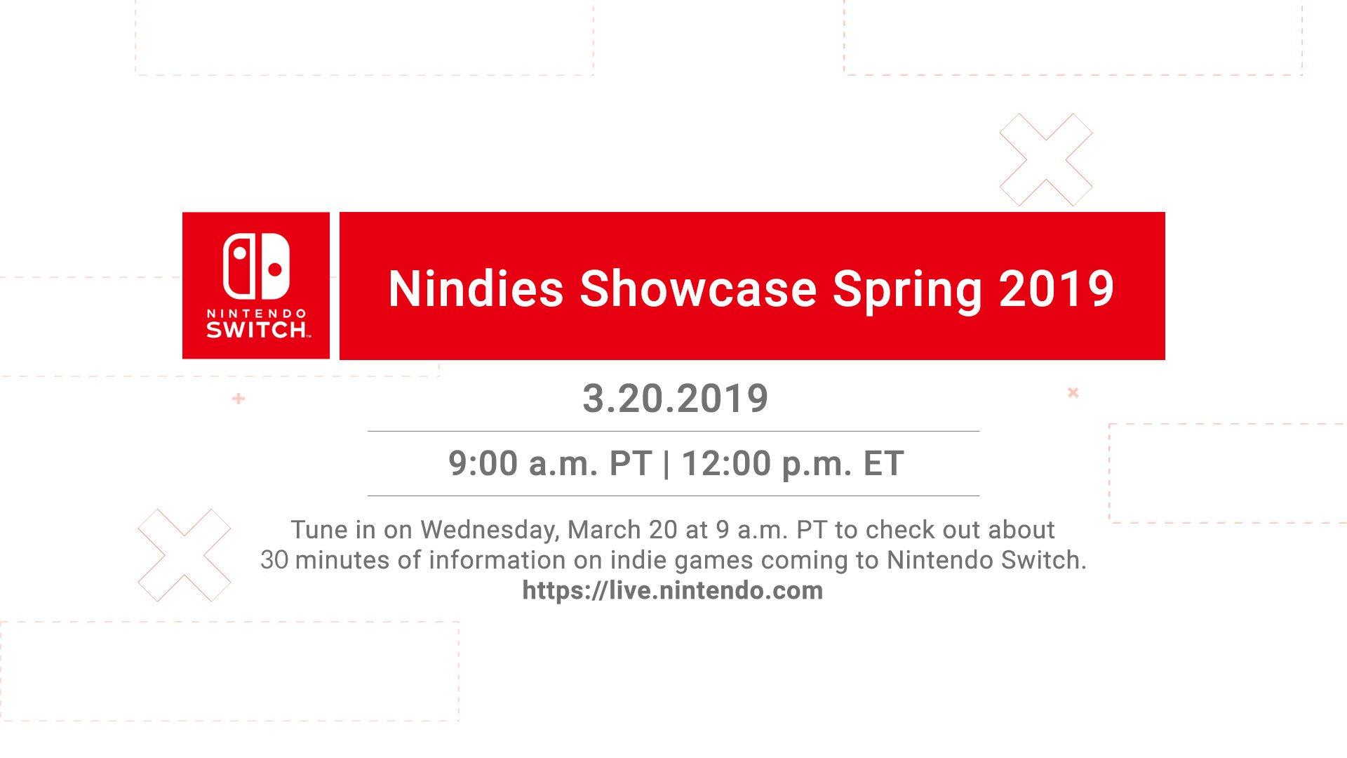 任天堂将于3月21日凌晨举行独立游戏直面会