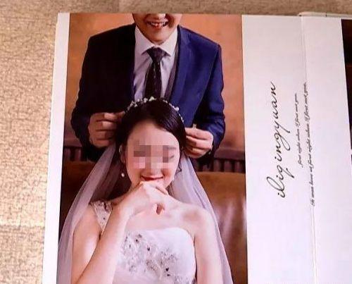 婚纱照新郎只要半张脸怎样回事?新郎为什么只要半张脸影楼如许回应