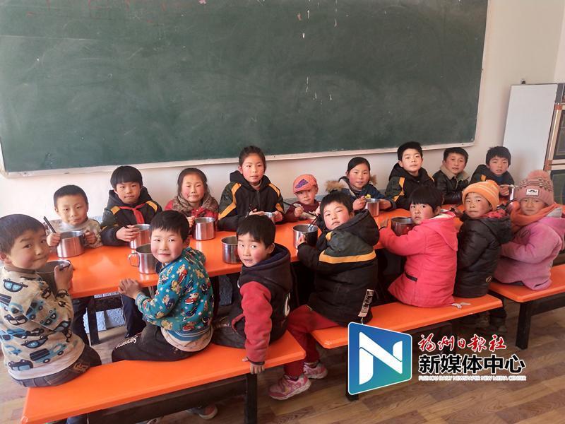 [定西希悦精品酒店电话]定西希望小学开起爱心厨房 16名孩子吃上热饭菜