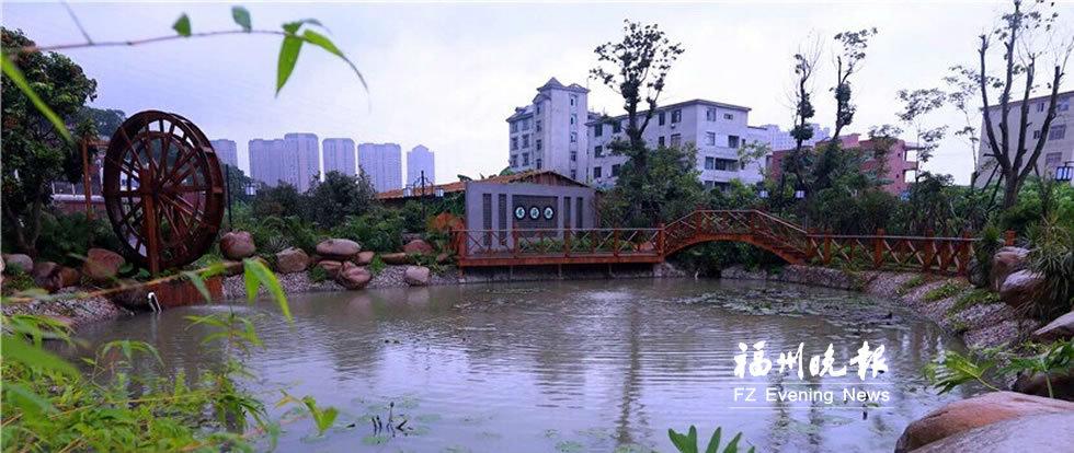 长乐打造乡村振兴标杆 长安村媲美城市花园小区