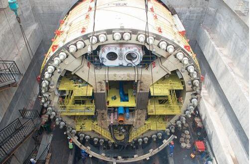 廈門地鐵2號線穿海隧道主體完工 系國內首條海底盾構地鐵隧道