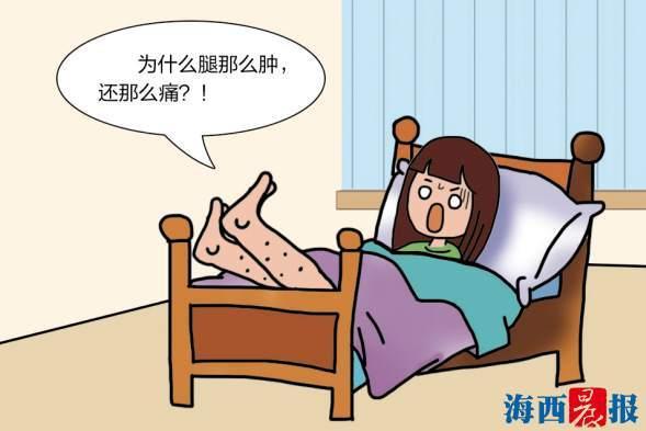"""""""坐月子""""宅著不動女子患上深靜脈血栓 所幸最后有驚無險"""