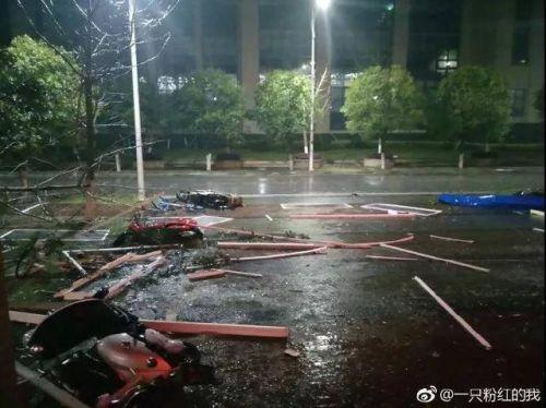 桂林突遭冰雹襲擊現場圖曝光太可怕!桂林突遭冰雹襲擊后一片狼藉
