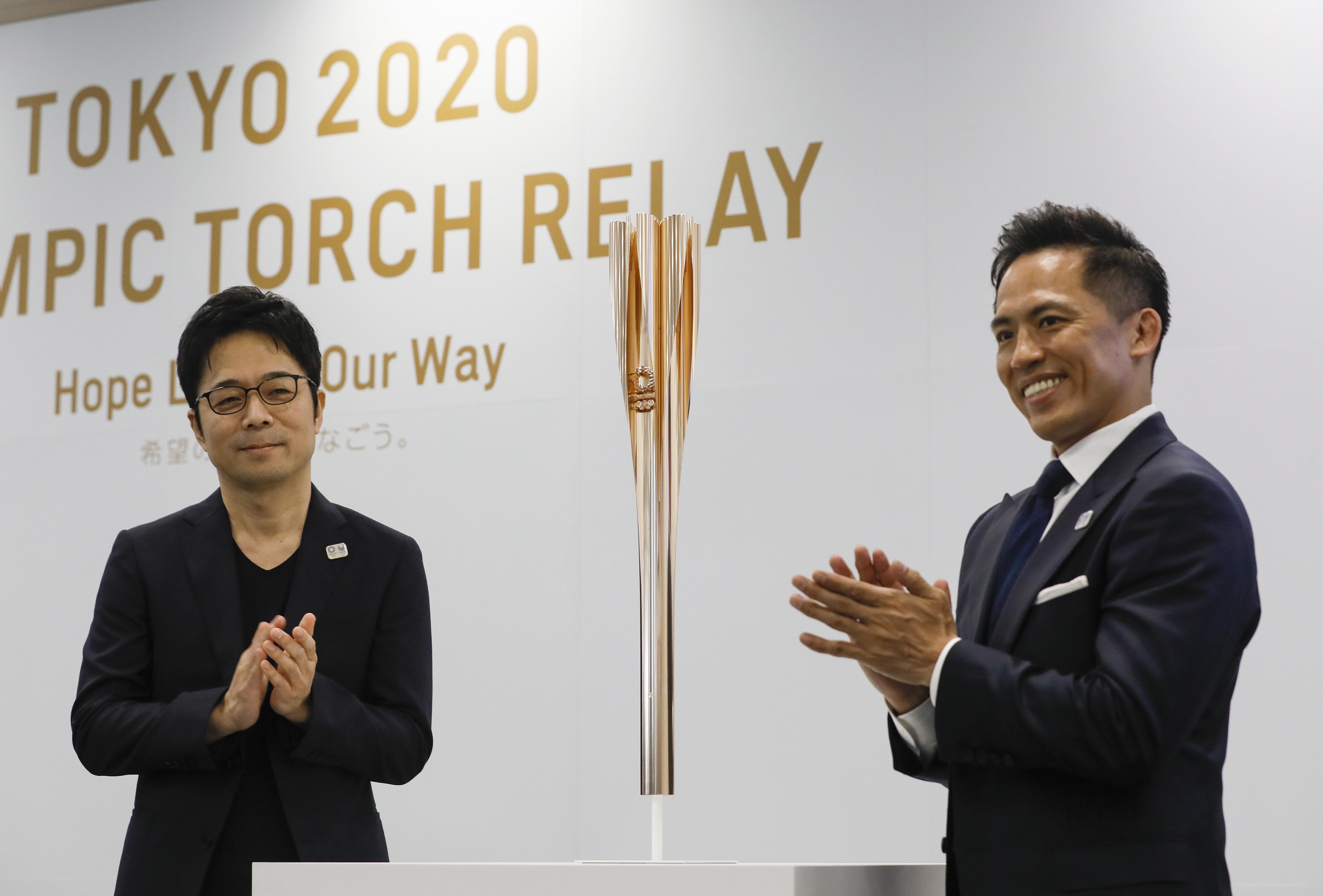 奥运火炬样式公布 2020年东京奥运会火炬高清组图 火炬大使是谁